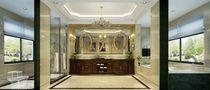 140平米别墅欧式风格卫生间浴室柜设计图
