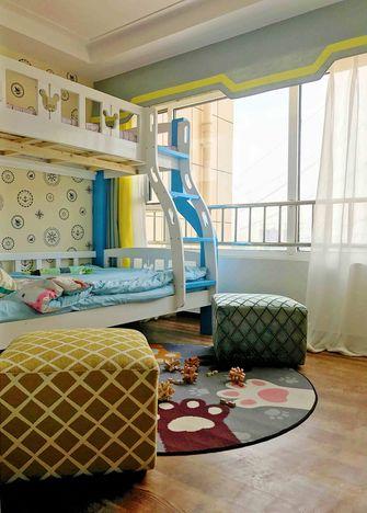110平米三室两厅东南亚风格儿童房图片大全