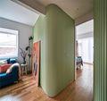 110平米三其他风格走廊装修效果图