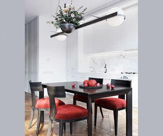 110平米一室一厅欧式风格餐厅图片