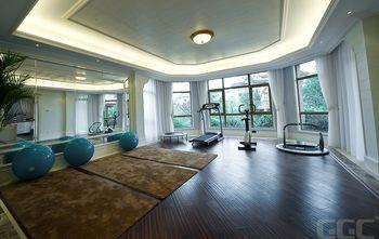140平米别墅地中海风格健身室效果图