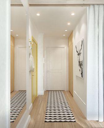 90平米一室两厅北欧风格玄关图