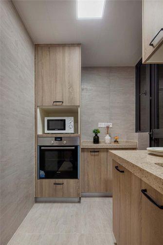 110平米三北欧风格厨房设计图
