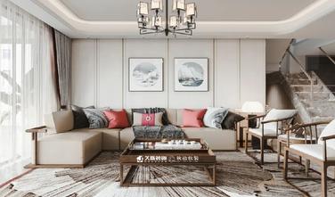 20万以上140平米四室两厅中式风格客厅图