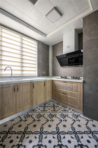 90平米三室一厅北欧风格厨房图