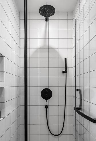 80平米现代简约风格卫生间图片大全