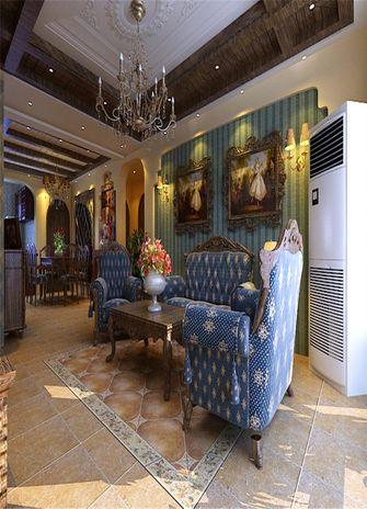 140平米四室三厅地中海风格客厅图