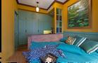 40平米小户型东南亚风格卧室图