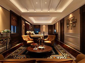 140平米别墅美式风格客厅装修案例