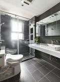 140平米三室五厅现代简约风格卫生间图片大全