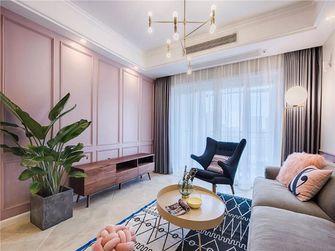 120平米四室两厅现代简约风格客厅效果图