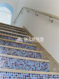 5-10万140平米三室两厅地中海风格楼梯装修案例
