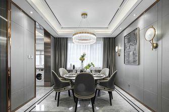 120平米三室两厅英伦风格餐厅图片大全
