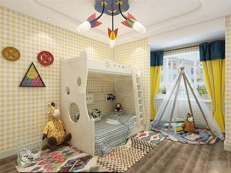 90平米田园风格儿童房装修图片大全