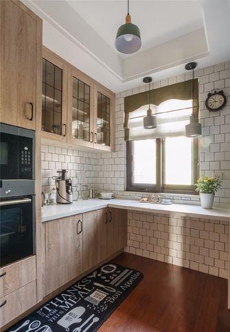 100平米三美式风格厨房欣赏图