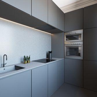 70平米一室一厅英伦风格厨房图片大全