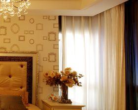 富裕型110平米三室兩廳中式風格臥室裝修圖片大全