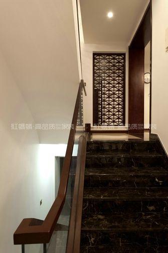 豪华型140平米别墅中式风格楼梯装修案例