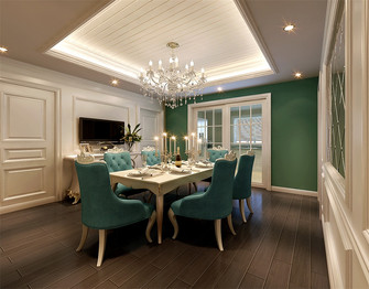 20万以上140平米四室三厅新古典风格餐厅效果图