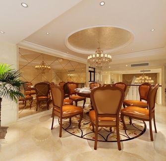 经济型140平米复式欧式风格餐厅设计图