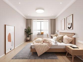 100平米三室两厅日式风格卧室装修效果图