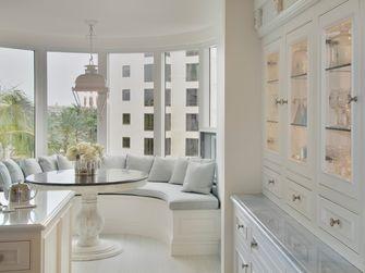 100平米三室两厅法式风格阳台设计图