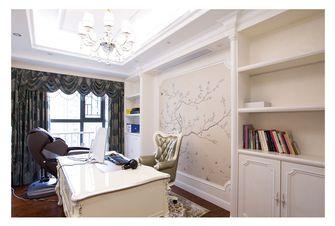 20万以上140平米四室三厅法式风格书房图片大全