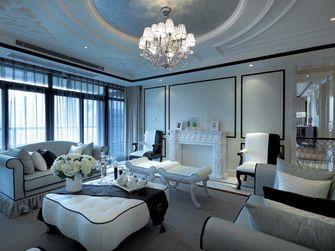 富裕型140平米四室四厅新古典风格客厅装修案例