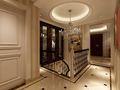 富裕型140平米复式欧式风格楼梯装修效果图