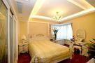 140平米三室两厅欧式风格卧室壁纸装修案例