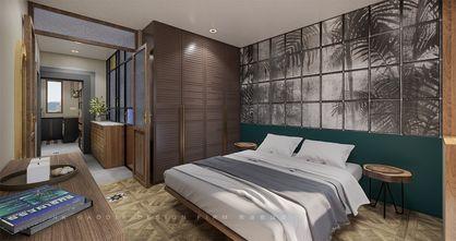 10-15万90平米混搭风格卧室图片