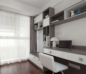 富裕型110平米现代简约风格书房设计图