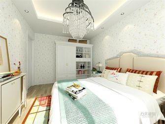 60平米一室一厅田园风格卧室欣赏图