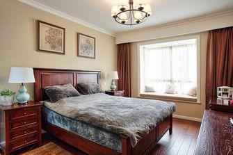 140平米四室两厅美式风格卧室背景墙欣赏图