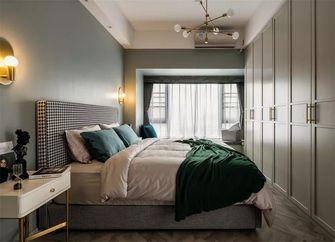 80平米三室一厅新古典风格卧室图片大全