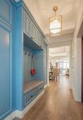 110平米三室两厅地中海风格储藏室装修案例