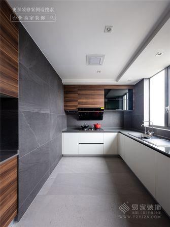 140平米四室两厅现代简约风格厨房设计图