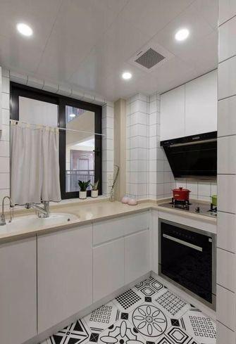 100平米三室两厅日式风格厨房图片