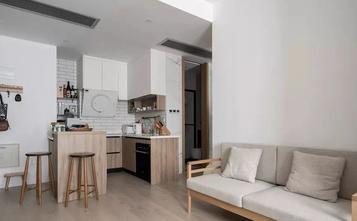 60平米公寓日式风格客厅设计图