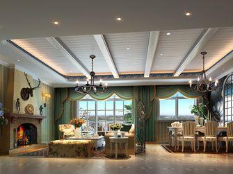 20万以上140平米四室一厅田园风格客厅装修案例