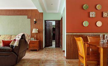 70平米三室两厅地中海风格走廊效果图