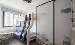 130平米三混搭风格儿童房效果图