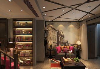 140平米三室一厅美式风格储藏室装修图片大全