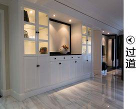 富裕型120平米三現代簡約風格走廊設計圖