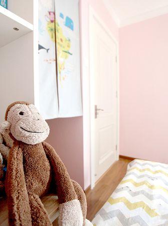 120平米三室一厅混搭风格儿童房设计图