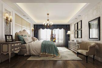 140平米复式欧式风格卧室设计图