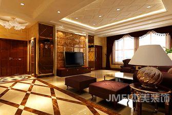 140平米四室五厅混搭风格客厅欣赏图