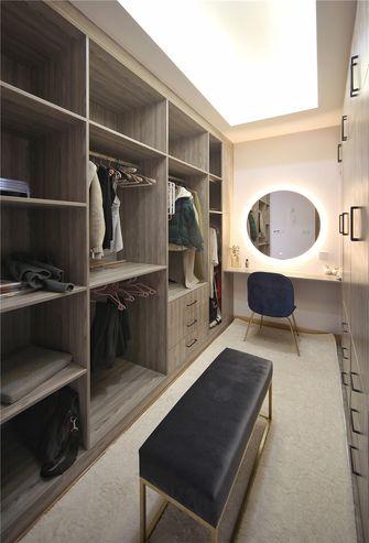 140平米三室一厅北欧风格衣帽间设计图