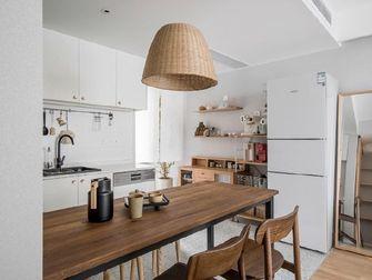 60平米一室两厅现代简约风格餐厅设计图