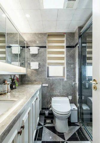 120平米三室一厅美式风格卫生间设计图
